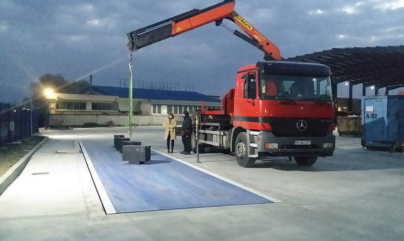 камион с кран Пловдив